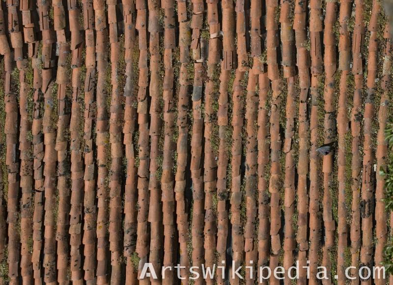 free broken shingles texture