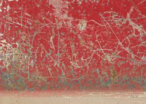 scratched metal red painted texture