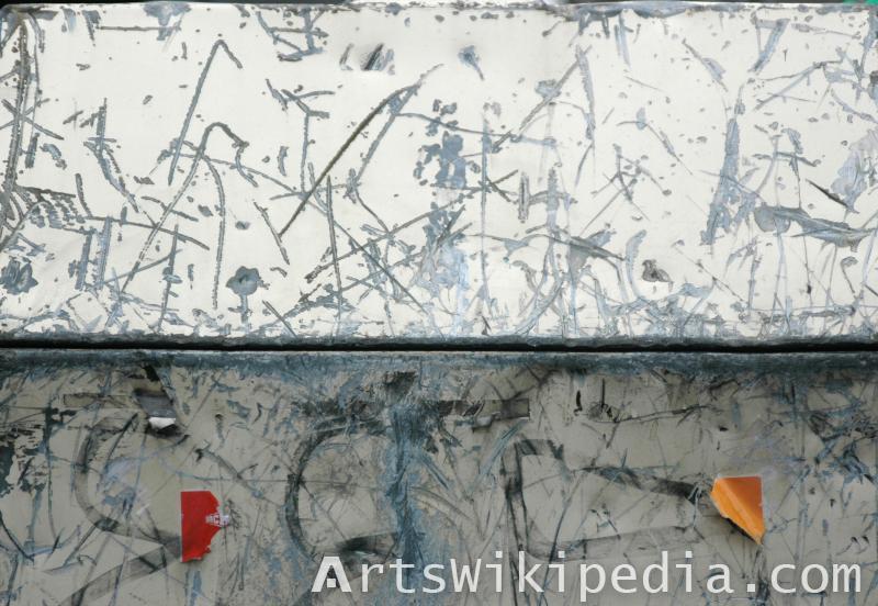 scratched indented metal texture