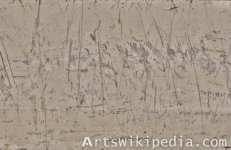 albedo texture of scratched metal