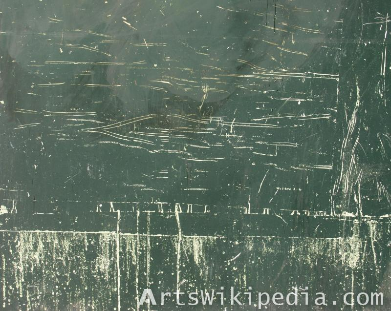 albedo scratched metal
