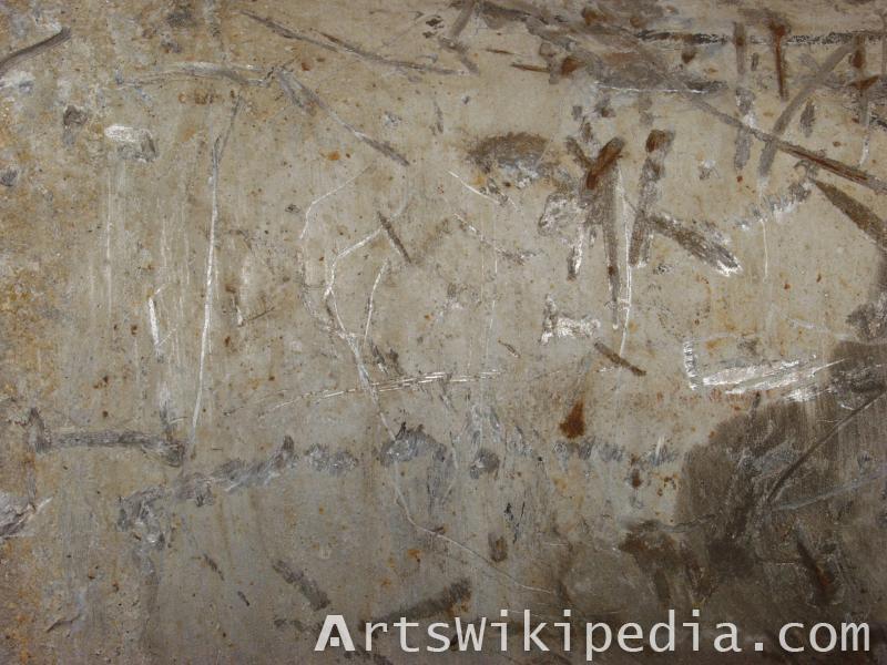 marmoset albedo scratched metal