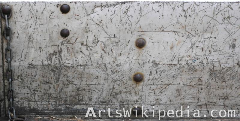 indented metal material