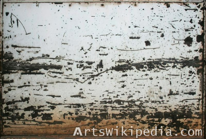 old metal scratched texture