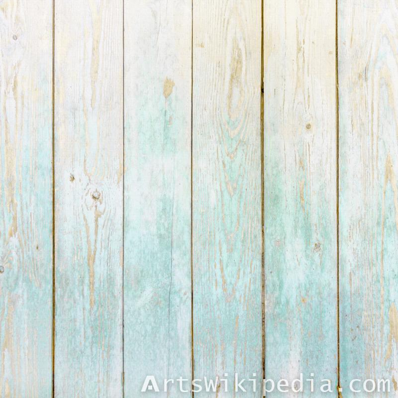 blue tinted wood