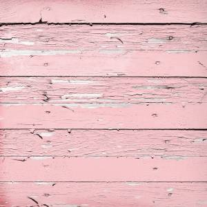 pink painted wood