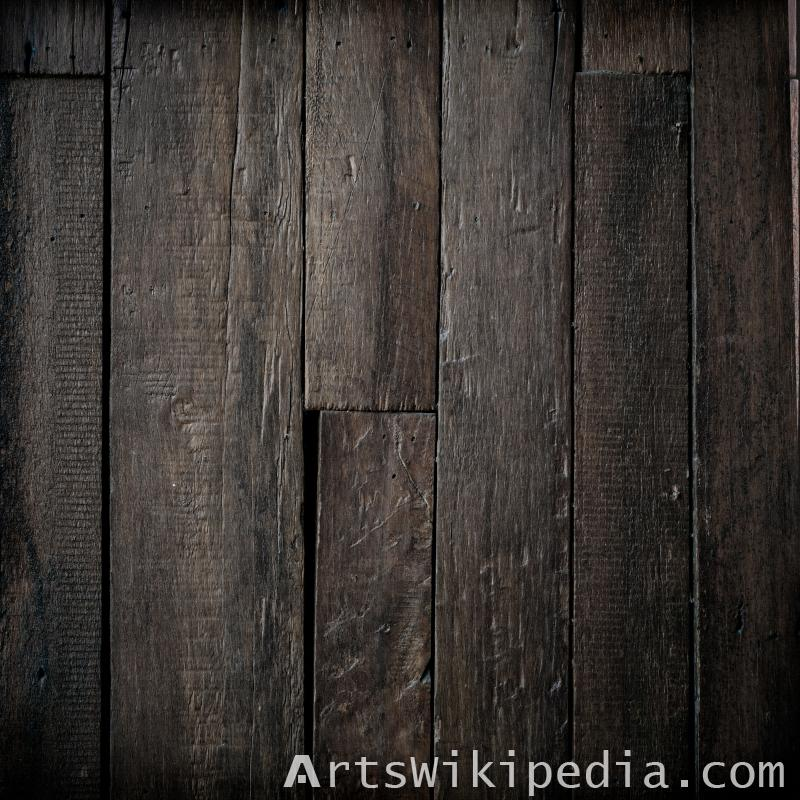 wood tile black