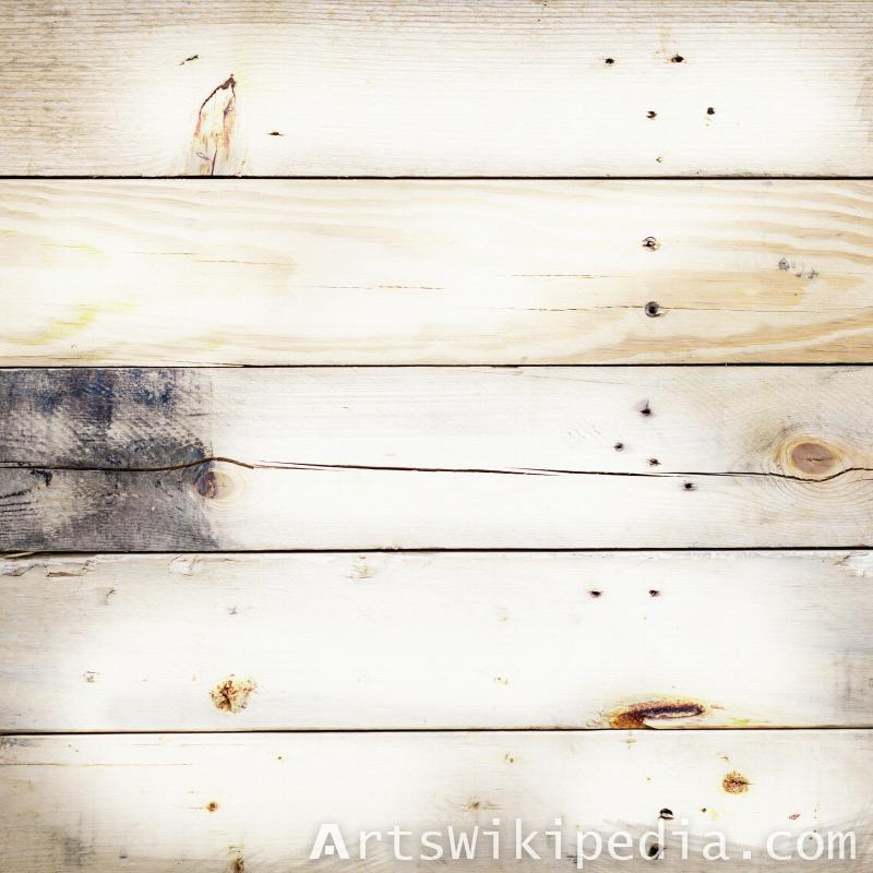 white planks wood