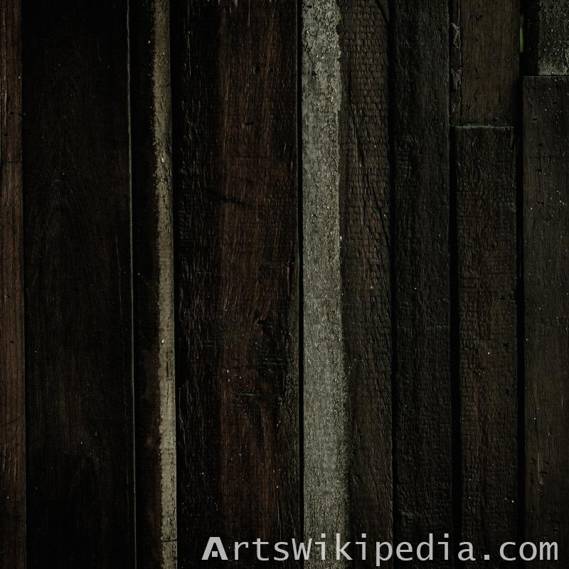 black wood planks texture