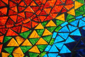 mosaic triangle