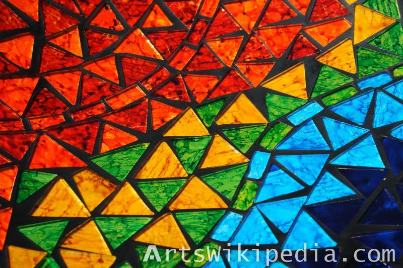 mosaic triangle