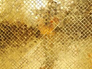 gold-mosaic