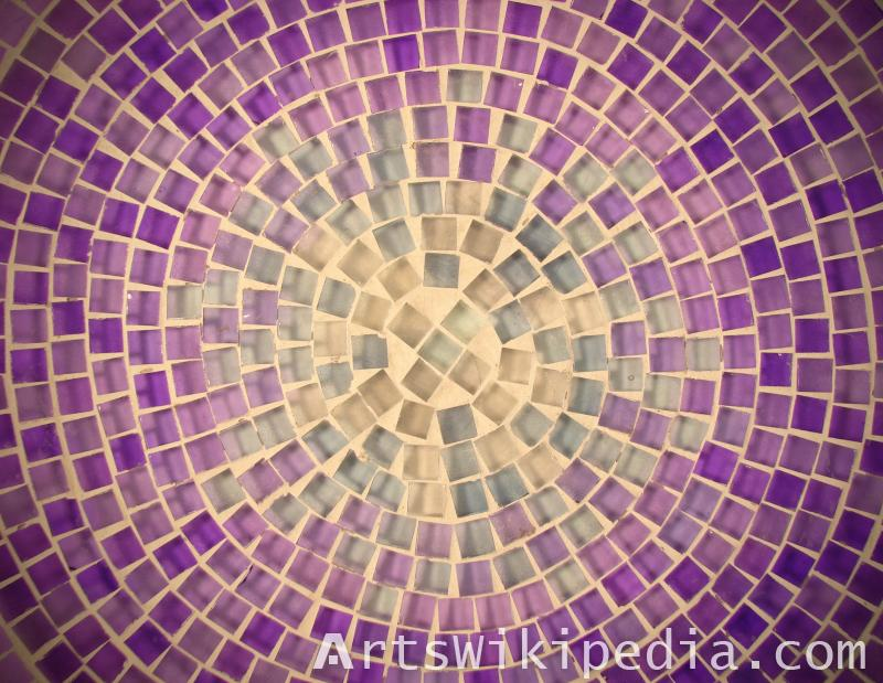 circular mosaic