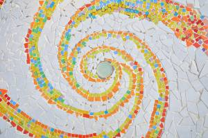 spiral-mosaic-texture