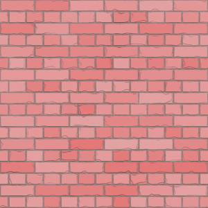 Pink painted brick texture