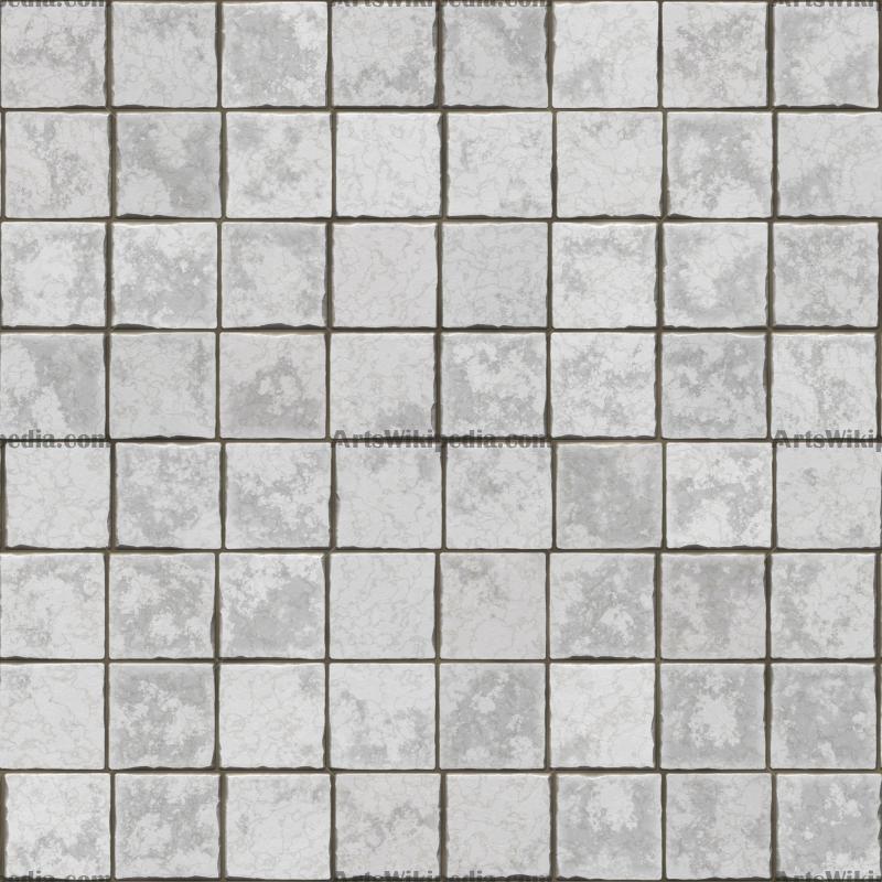 white ground pavement texture