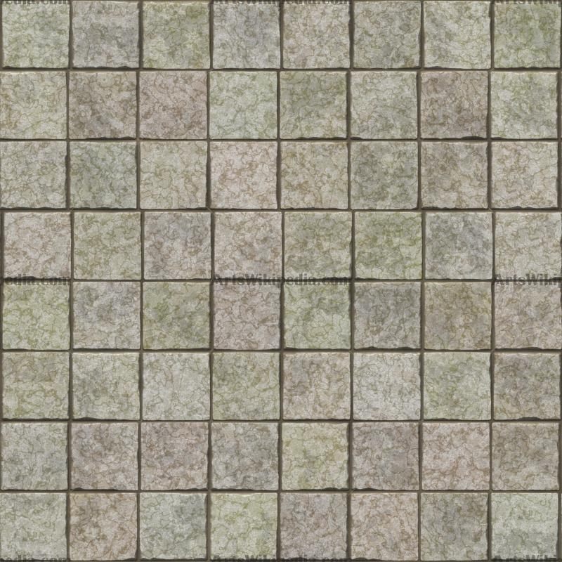 square pavement texture