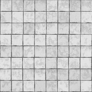 White seamless pavement texture