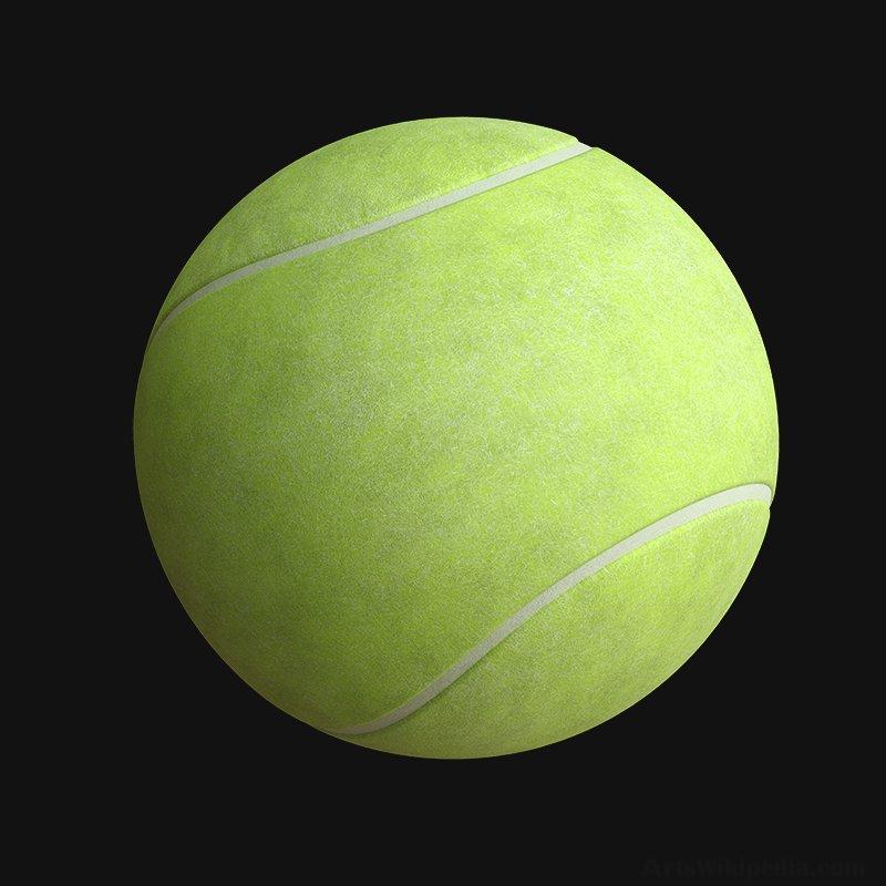Tennis Ball Texture
