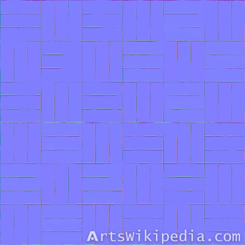 wood pattern normal map
