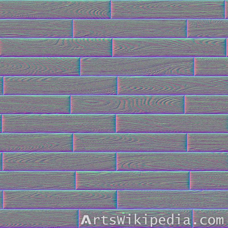 wood tiles normal texture