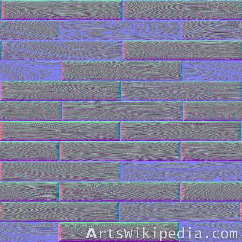 seamless wood tile image normal