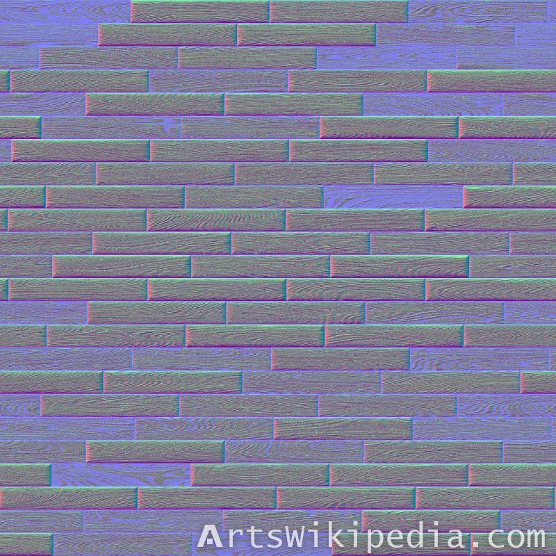 free seamless wood normal map