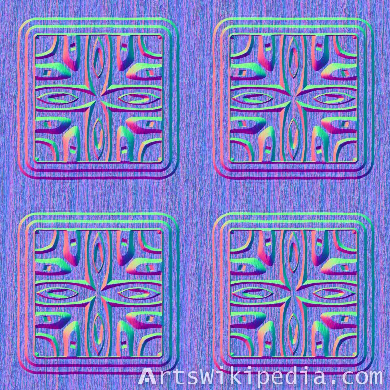 free seamless wood normal image pattern