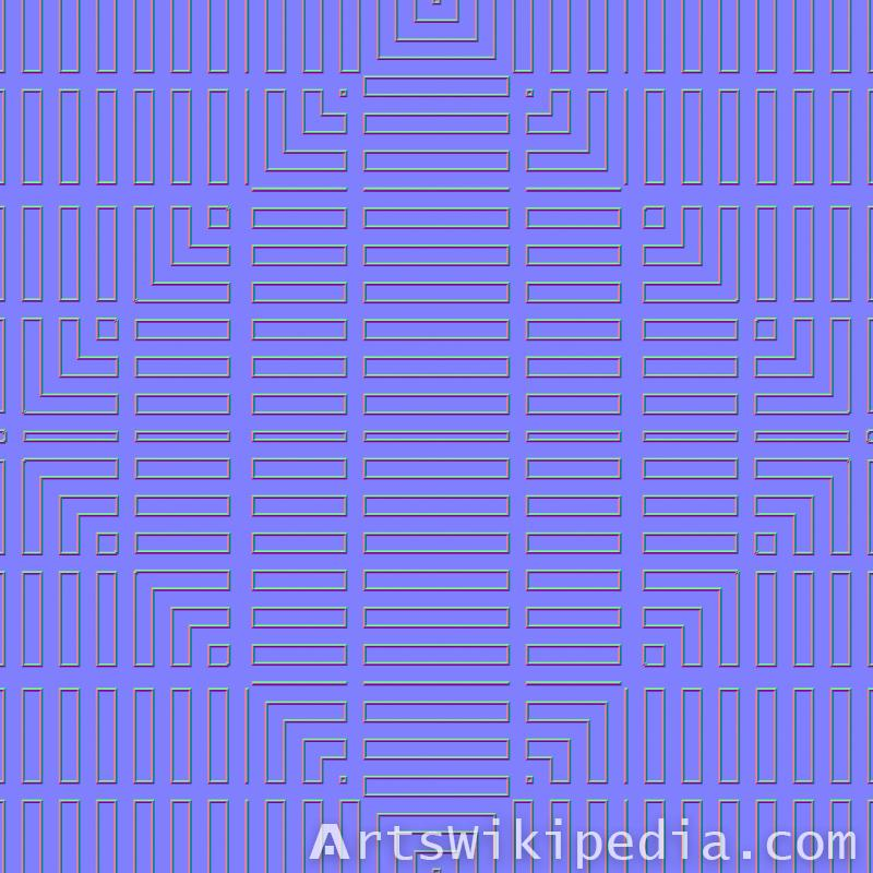 free wood pattern light map