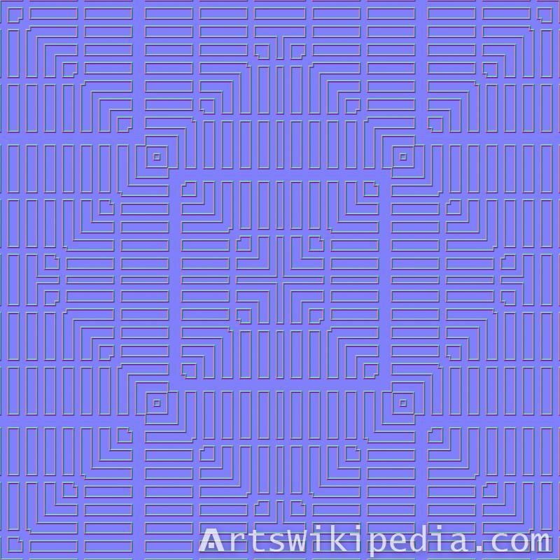 seamless normal map wood pattern