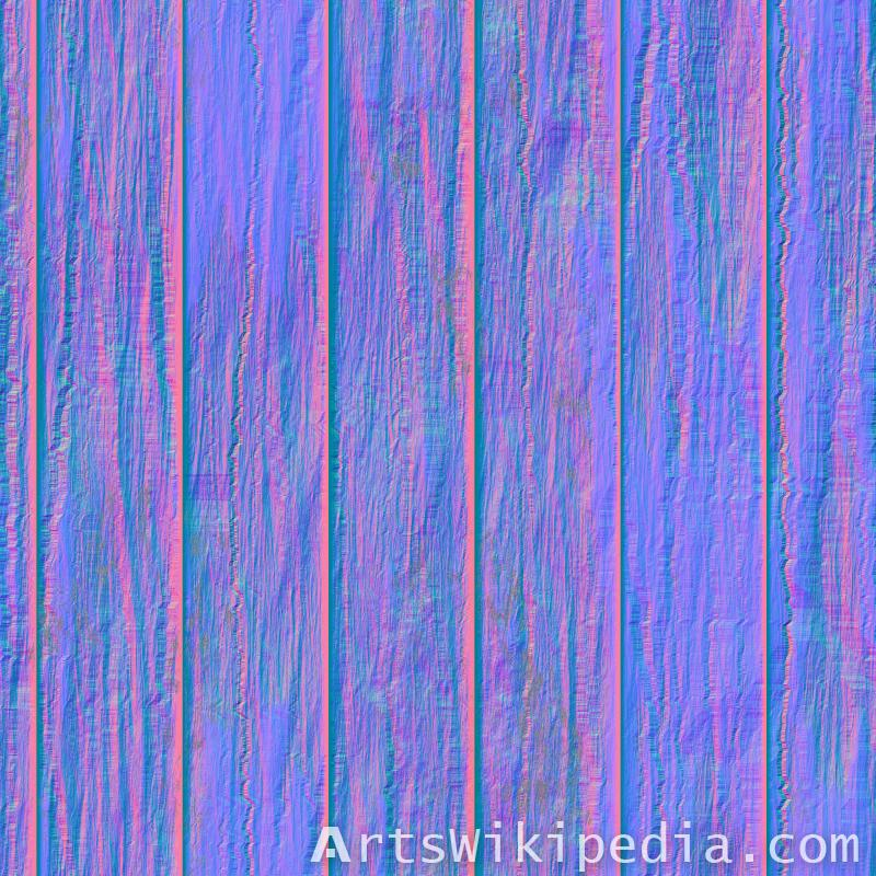 Vray normal map wood texture