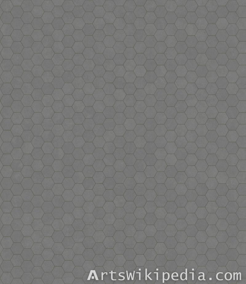 hex pavement tile texture