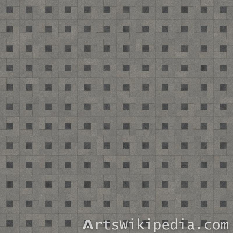 free square pavement texture