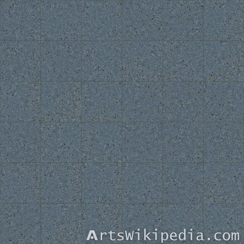 blue pavement texture