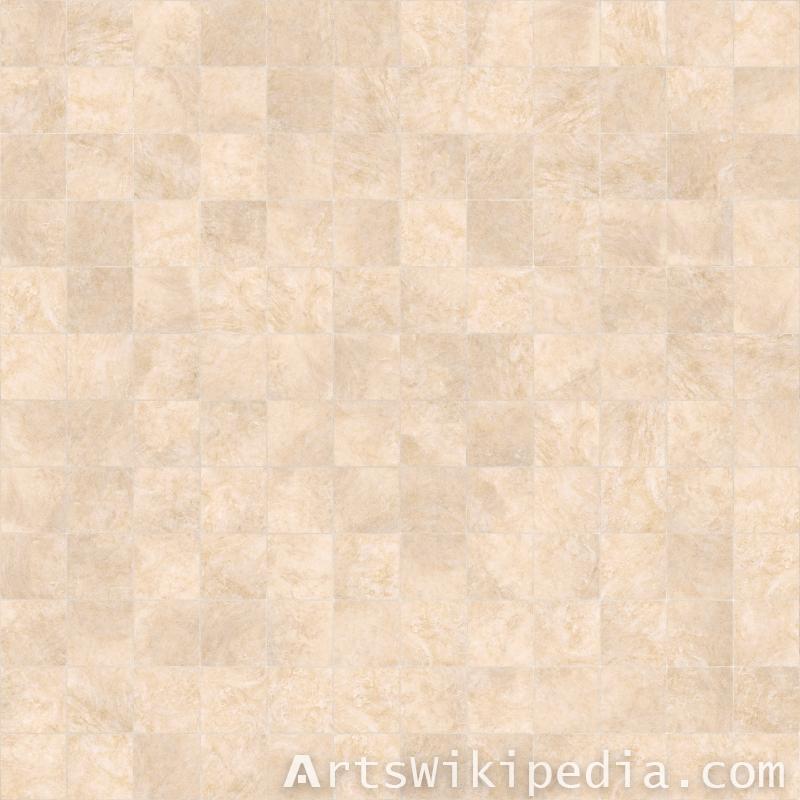 beige pavement tiles