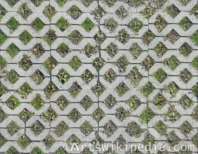 diamond pavement texture