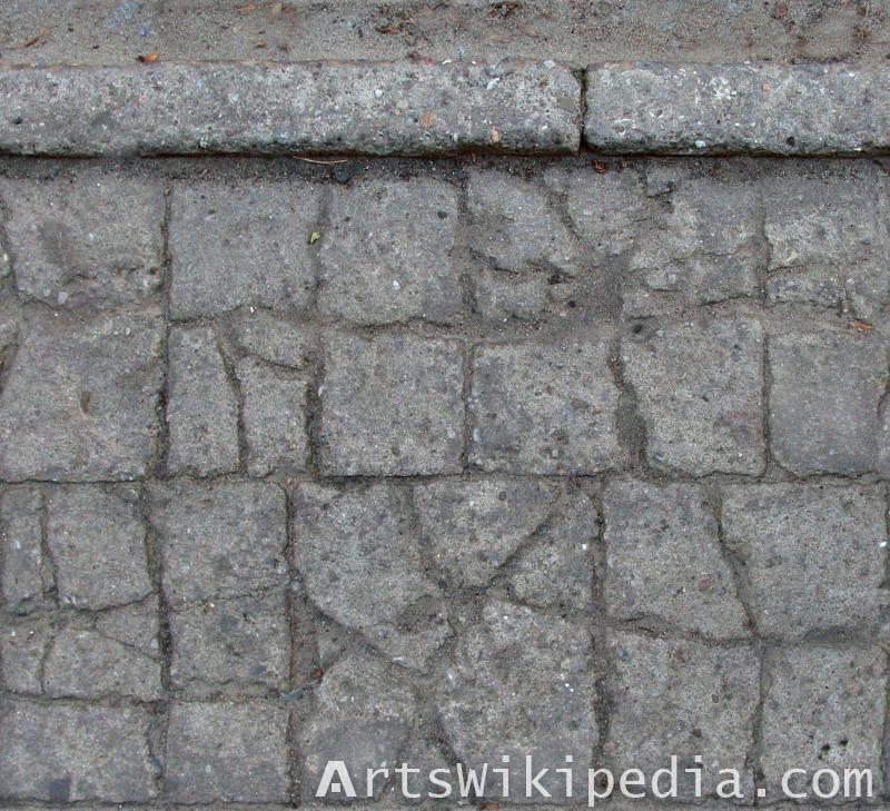 concrete old pavement texture free