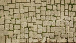 middle age pavement texture