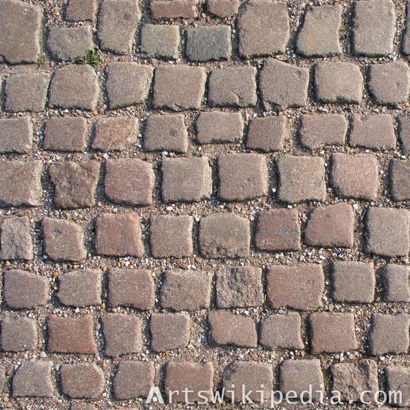 free brown cobblestone pavement