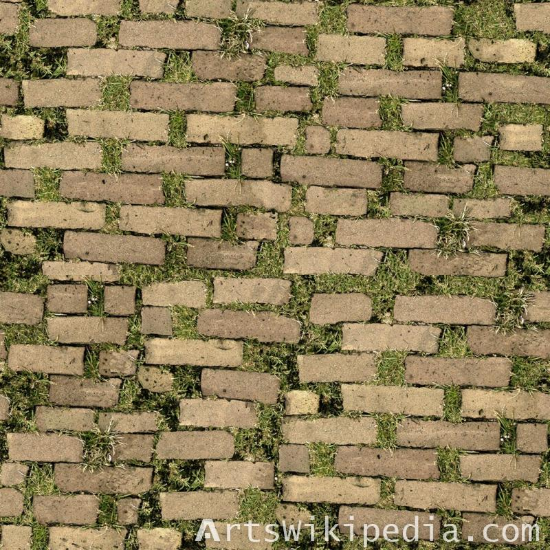 free pavement grass texture