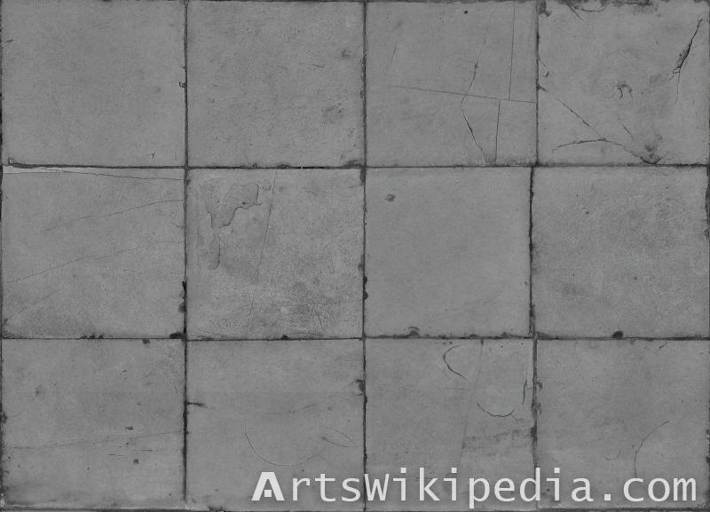 pavement gray tiles