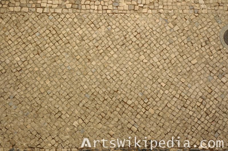 free cobblestone pavement texture