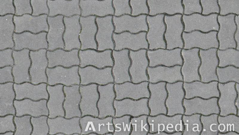 Concrete free pavement texture