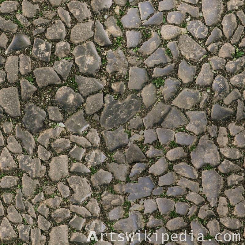 free irregular cobblestone texture
