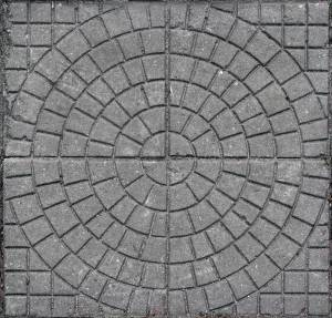 concrete pavement circle