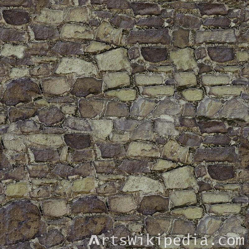 free old pavement stone texture