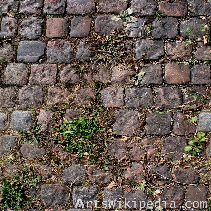 free pavement stone dirty