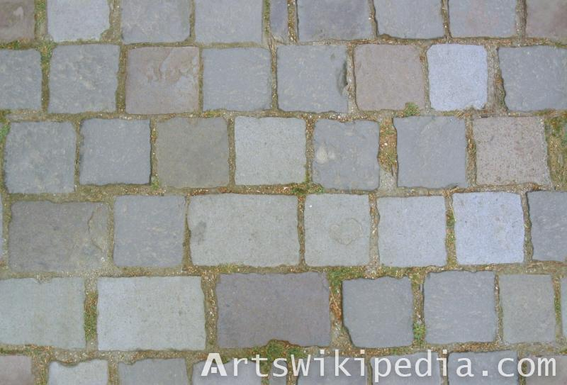 stone paving texture map