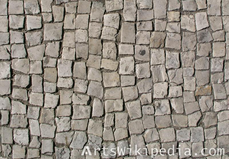 irregular free pavement texture