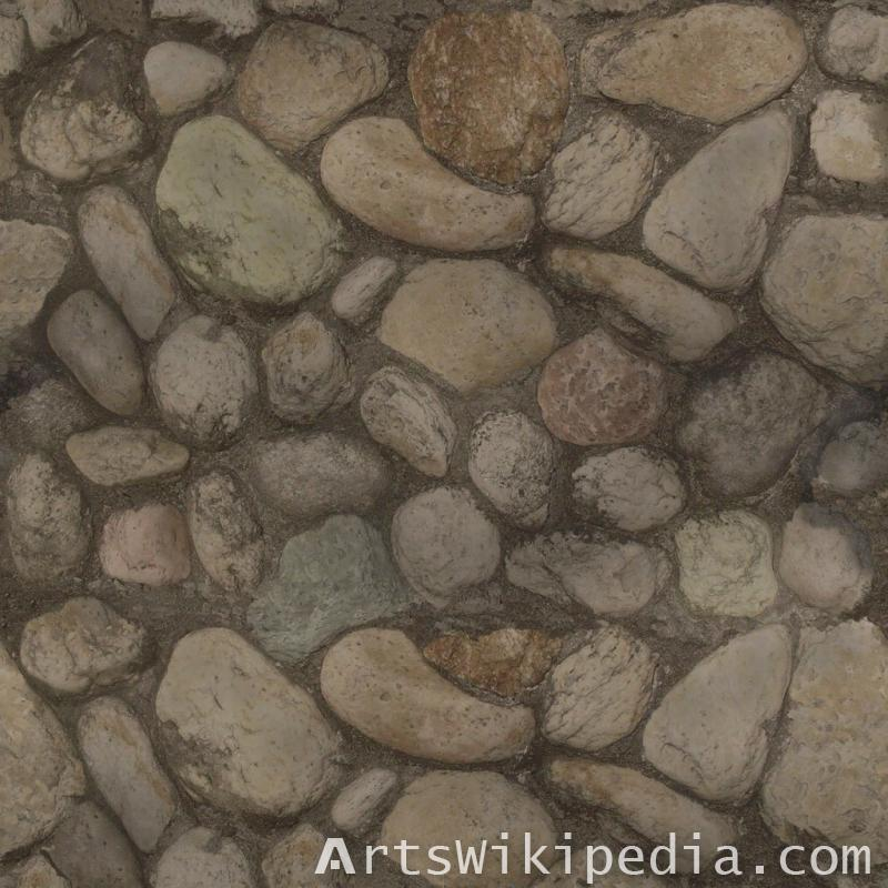 gravel stone pavement texture